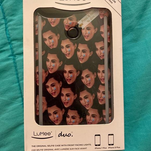 Kim Kardashian crying iPhone 8 Plus phone case